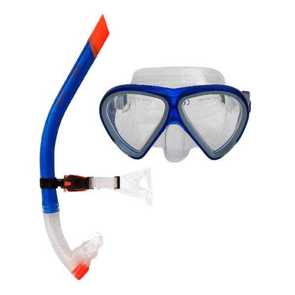 عینک و اسنورکل غواصی آکواپرو مدل 58924