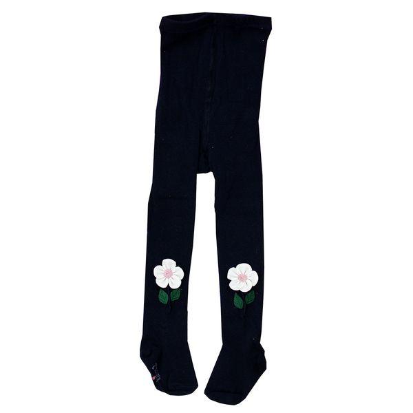جوراب شلواری دخترانه مدل SHAAKE22 رنگ سرمه ای