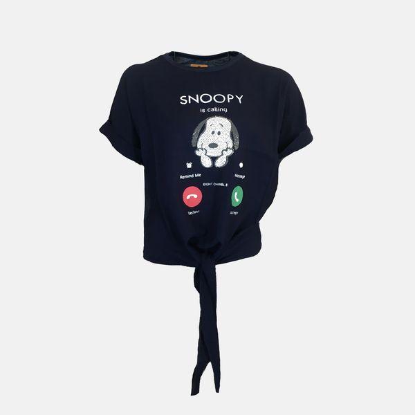 تی شرت آستین کوتاه زنانه مدل e622NB