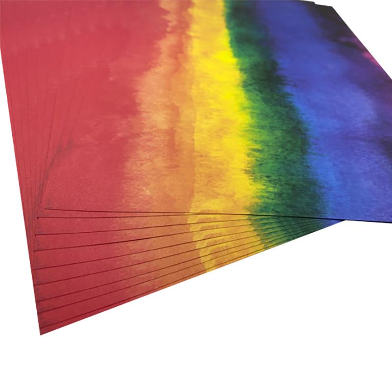 کاغذ رنگی A4 مدل آبرنگ بسته 10 عددی  main 1 4