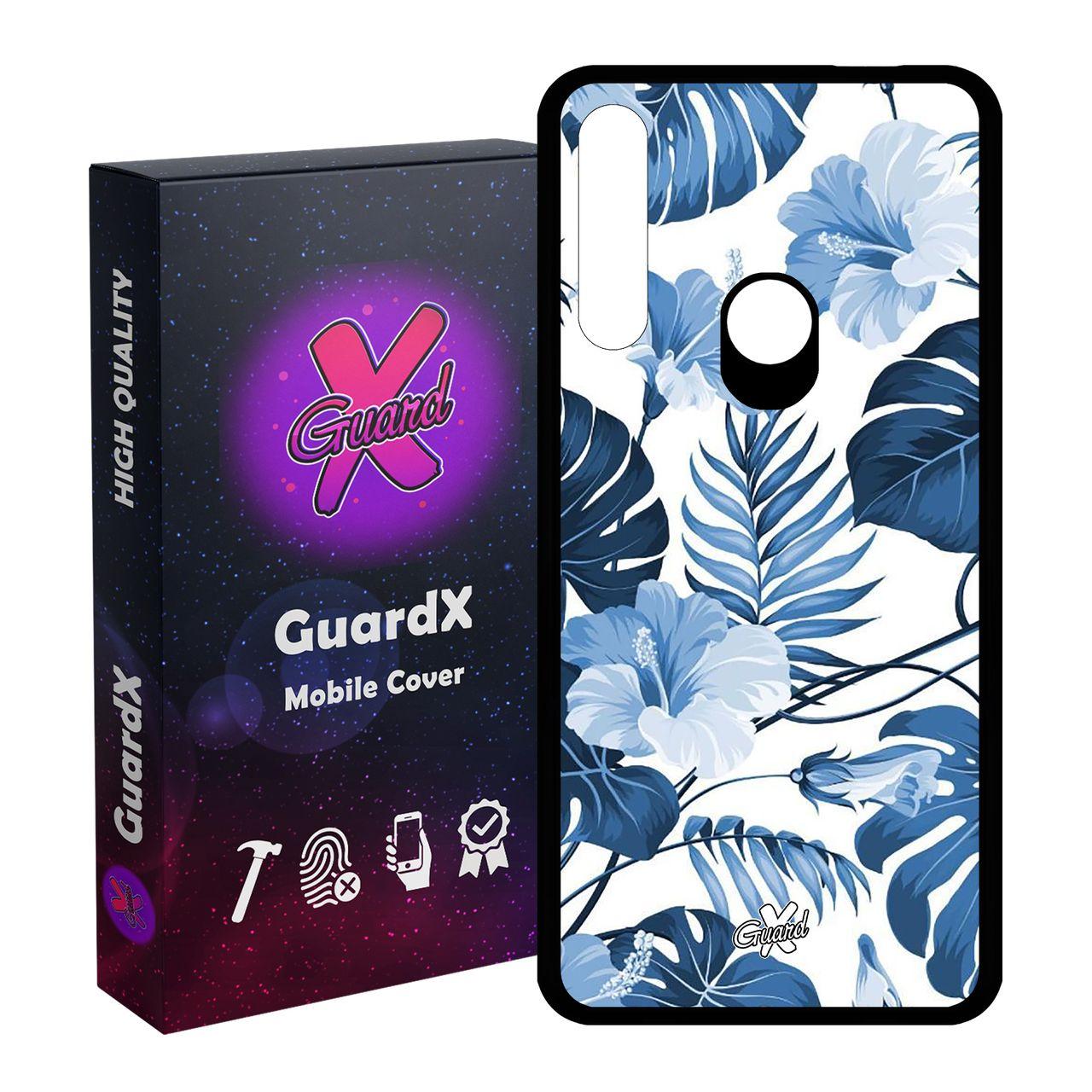 کاور گارد ایکس طرح Flower مدل Glass50354 مناسب برای گوشی موبایل هوآوی P Smart Z / Y9 Prime 2019 / آنر 9X