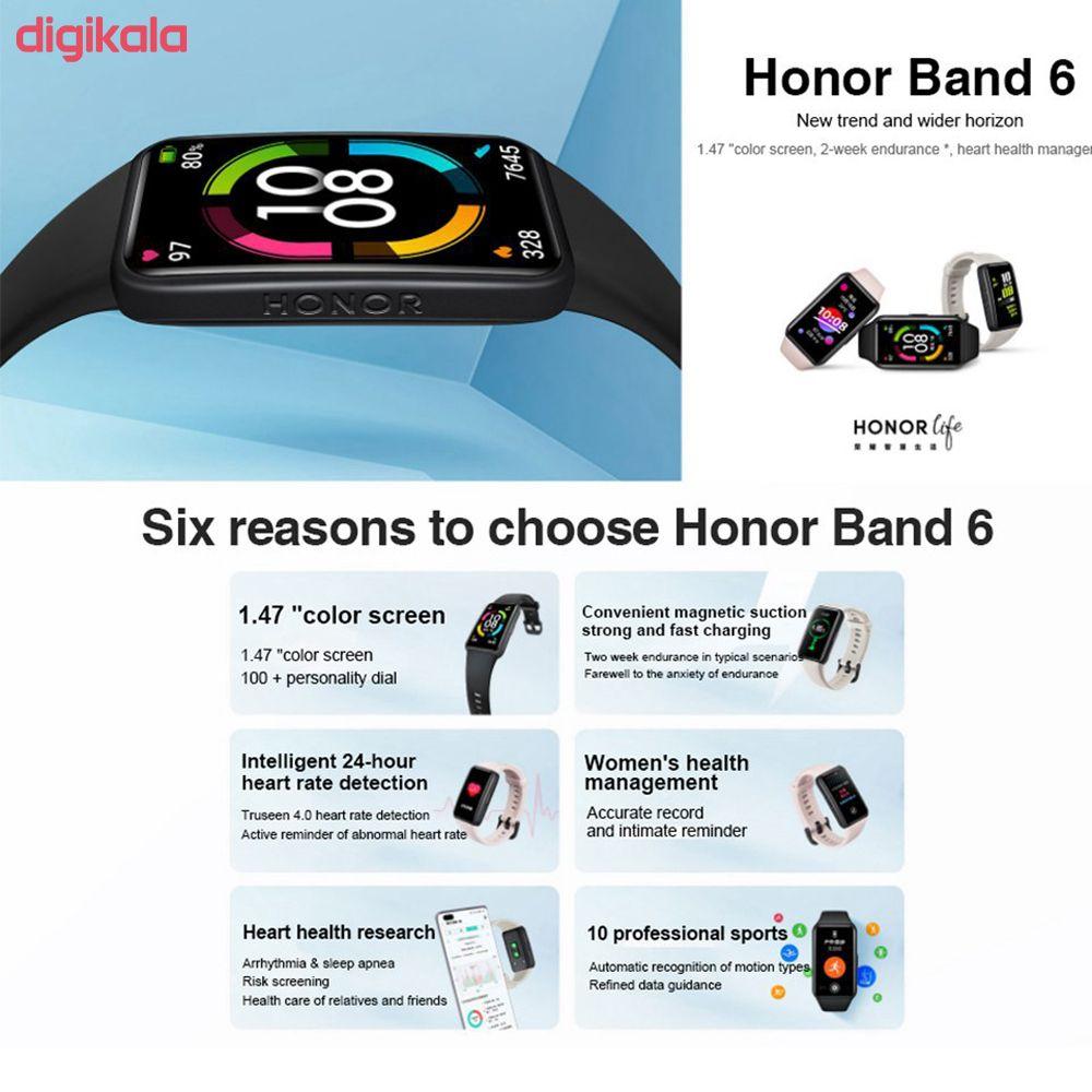 مچ بند هوشمند آنر مدل Band 6 main 1 10