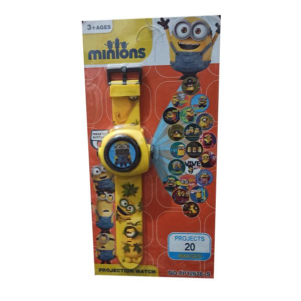 ساعت اسباب بازی مدل مینیون کد 12618