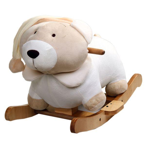 راکر کودک طرح خرس مدل Ayr02