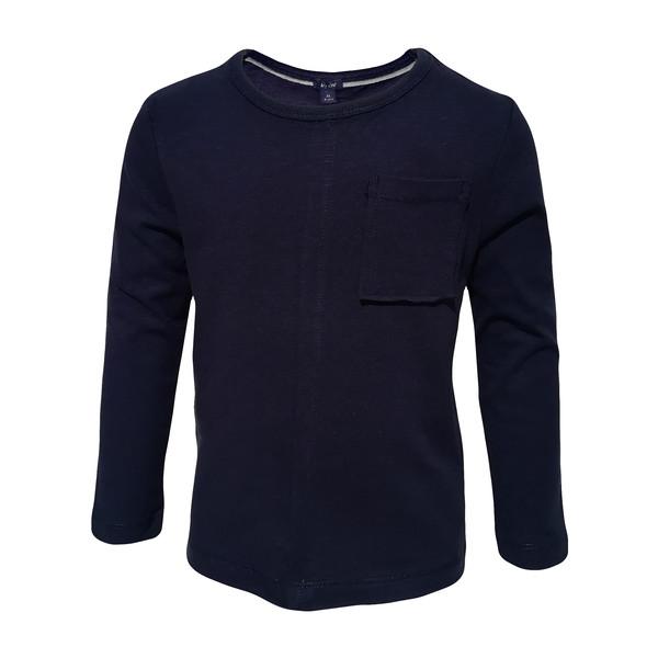تی شرت آستین بلند پسرانه کیابی کد 10065-4