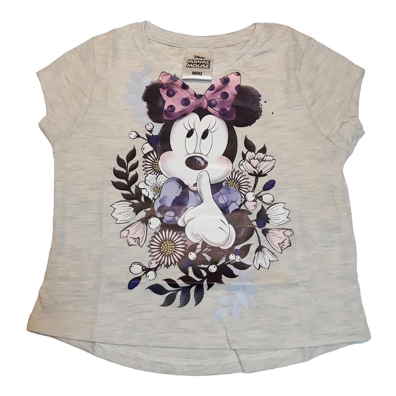 تی شرت آستین کوتاه دخترانه دیزنی مدل 35