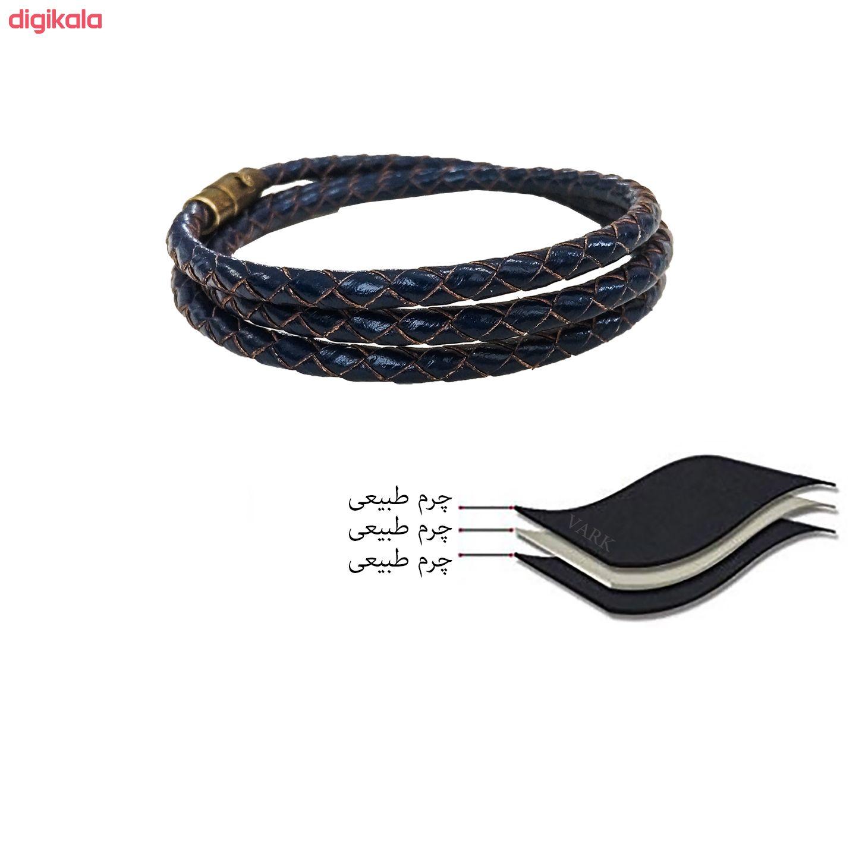 دستبند چرم وارک مدل رادین مدل rb309 main 1 7