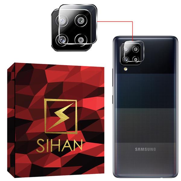محافظ لنز دوربین سیحان مدل GLP مناسب برای گوشی موبایل سامسونگ Galaxy A12 / A42