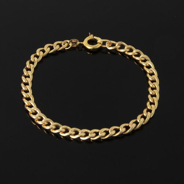 دستبند طلا 18 عیار زنانه کد 67110