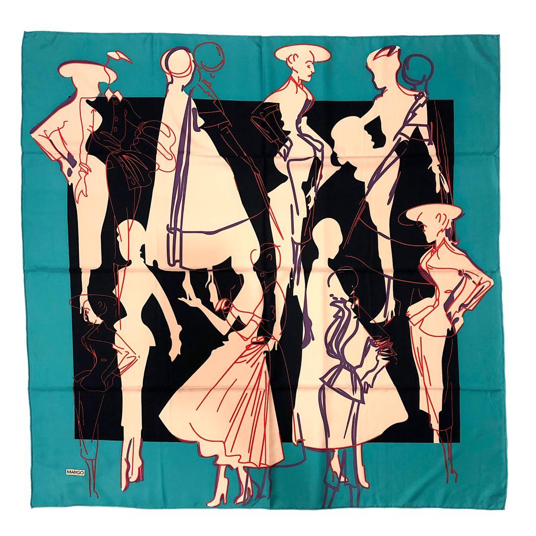 روسری زنانه مانگو مدل 00B3