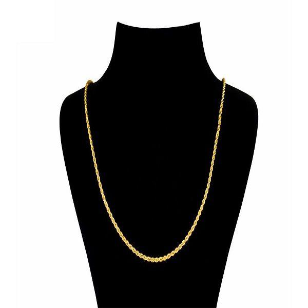 زنجیر طلا 18 عیار زنانه آلند مدل BZZ1