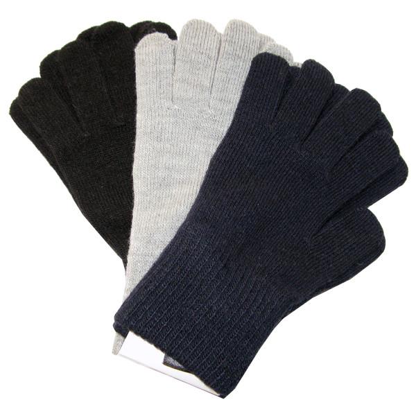 دستکش بافتنی بچگانه اچ اند ام مدل 106 مجموعه 3 عددی