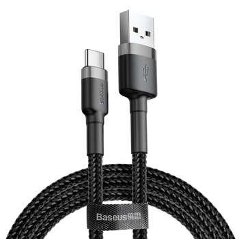 کابل تبدیل USB به USB-C باسئوس مدل CATKLF-BG1 Cafule طول 1 متر