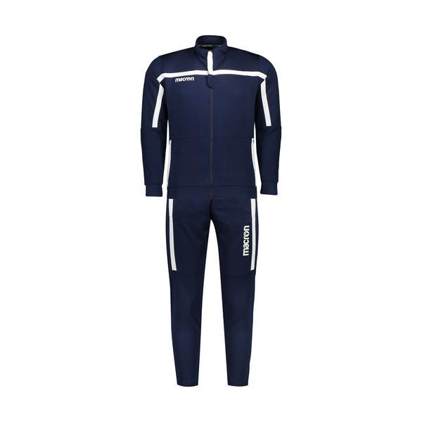 ست سویشرت و شلوار  ورزشی مردانه مکرون مدل لاتزیو رنگ سورمه ای