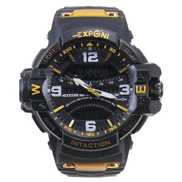 ساعت مچی عقربه ای مردانه اکسپونی مدل EP3262-GD