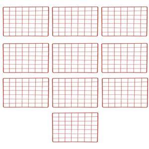 قفسه فلزی مدل مشبک بسته 10 عددی