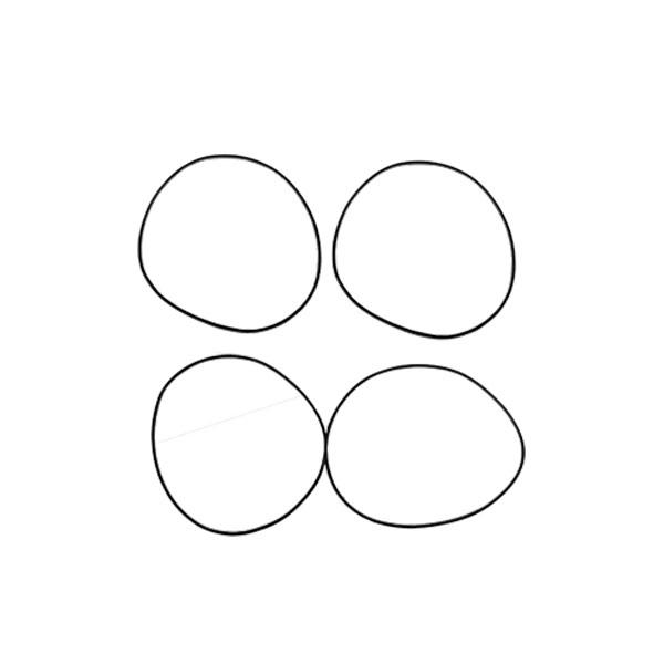 اورینگ دور بوش پیستون بی پی کو مدل 10685مناسب برای پژو 405
