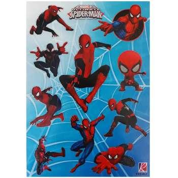 برچسب طرح مرد عنکبوتی کد 021