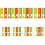 باتری قلمی و نیم قلمی شیائومی مدل ZL57 بسته 24 عددی