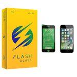 محافظ صفحه نمایش سرامیکی فلش مدل +HD مناسب برای گوشی موبایل اپل iPhone 7