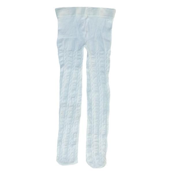 جوراب شلواری دخترانه پنتی مدل کارینا رنگ سفید