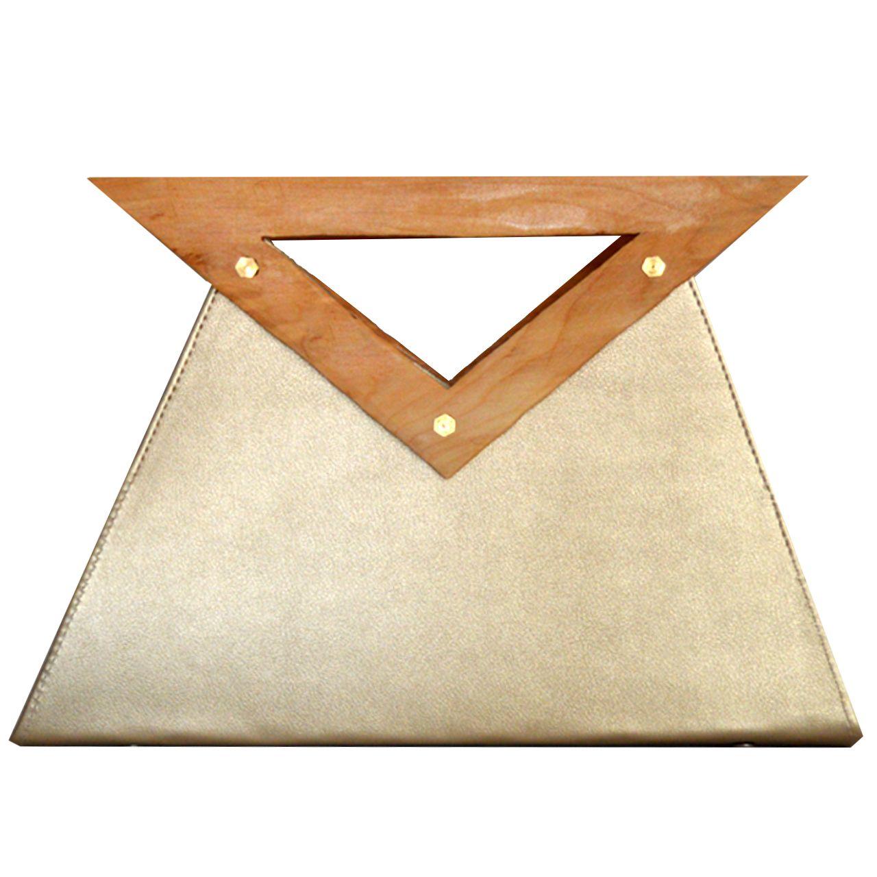 کیف زنانه دالاوین مدل دسته چوبی -  - 8