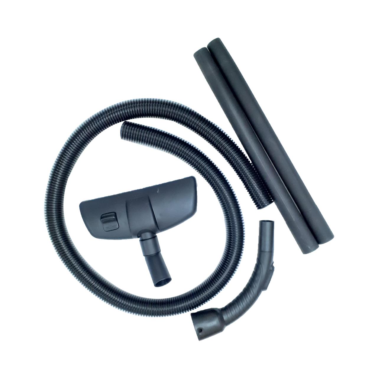 خرطومی و زانویی و لوله و برس جاروبرقی کد sha200 مناسب برای انواع جاروبرقی
