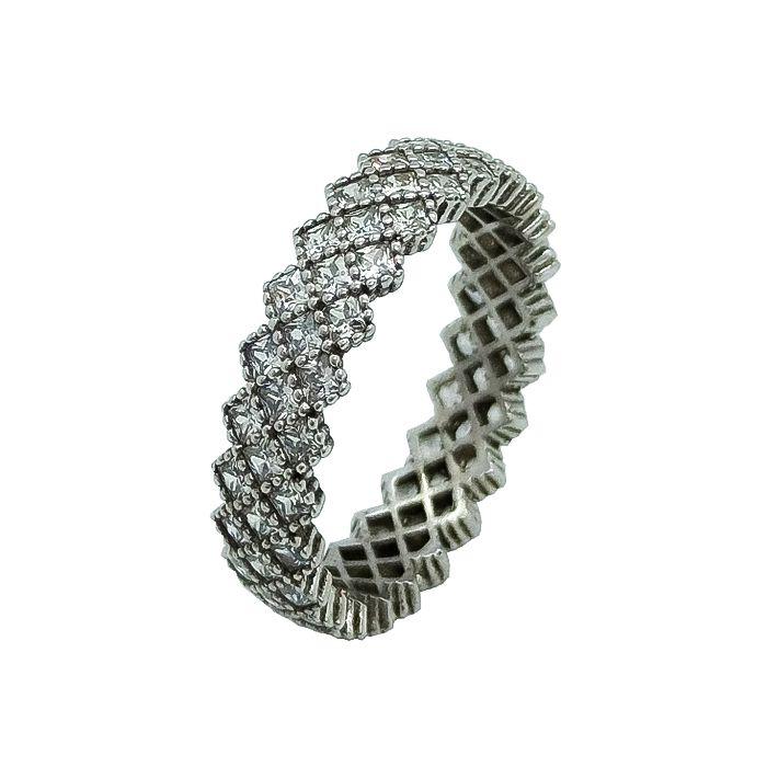 انگشتر نقره زنانه کد TSVR0016 -  - 2