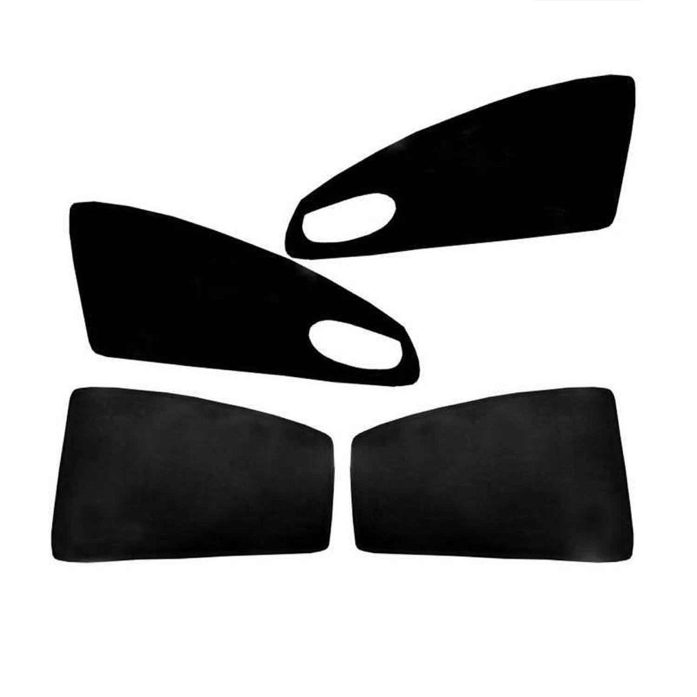 آفتاب گیر شیشه خودرو پاسیکو مدل P543 مناسب برای جک S5 مجموعه 4 عددی