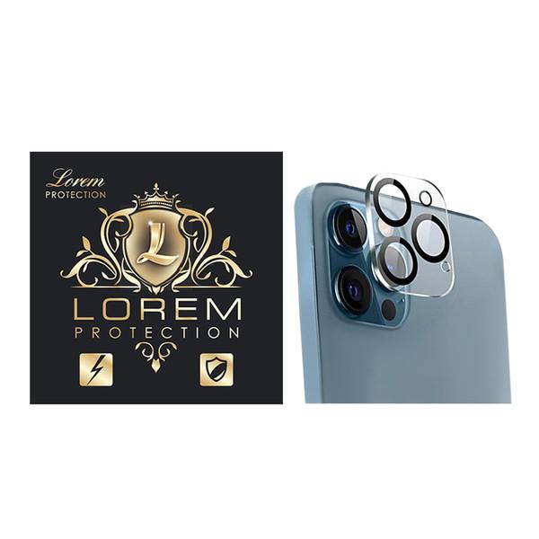 محافظ لنز دوربین لورم مدل LEZG11 مناسب برای گوشی موبایل اپل Iphone 12 Promax