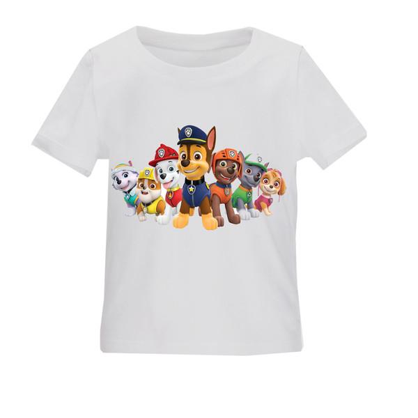 تی شرت بچگانه طرح سگهای نگهبان کد TSb161
