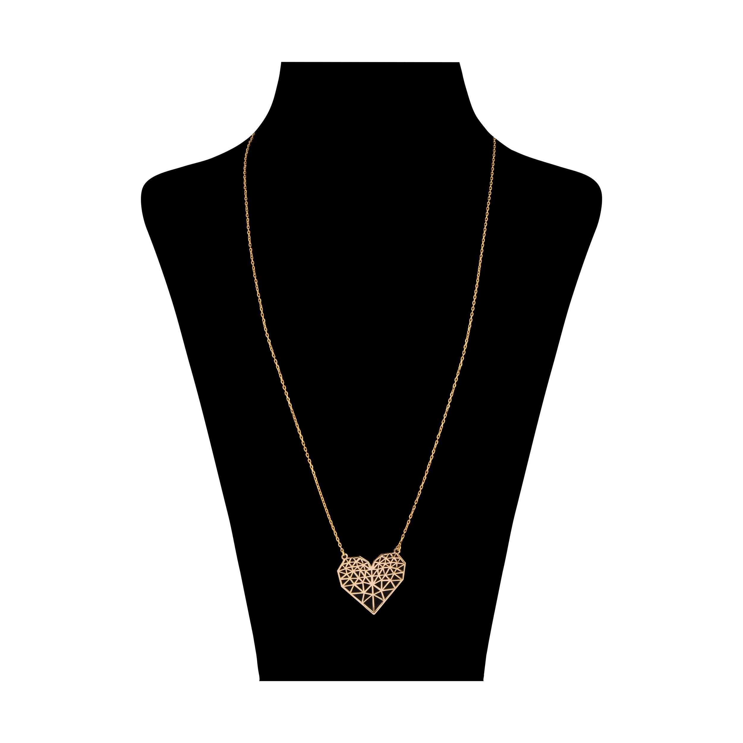 گردنبند طلا 18 عیار زنانه نیوانی مدل N1016