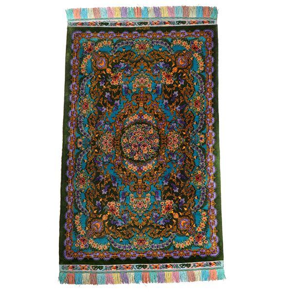 فرش دستبافت زرع ونیم عباسی مدل سالاری