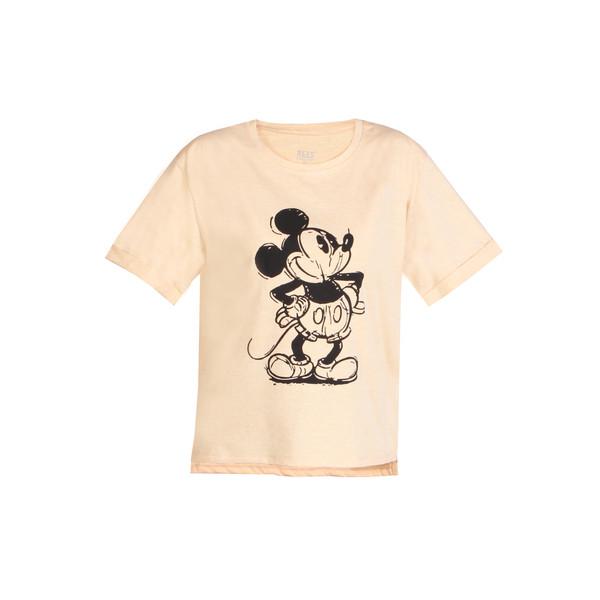 تی شرت آستین کوتاه زنانه ریس مدل میکی موس 106001017