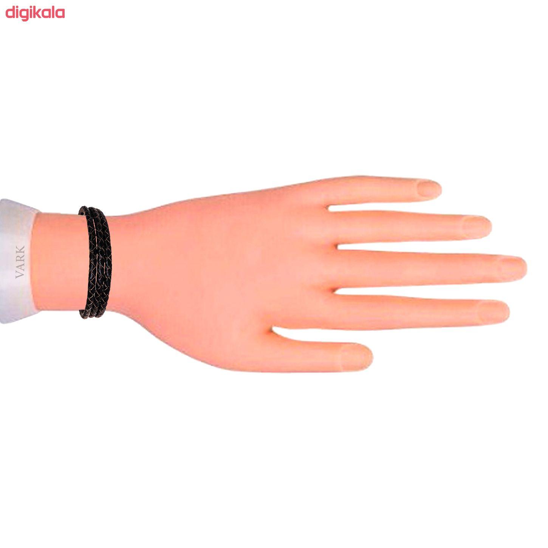 دستبند چرم وارک مدل دایان کد rb322 main 1 3