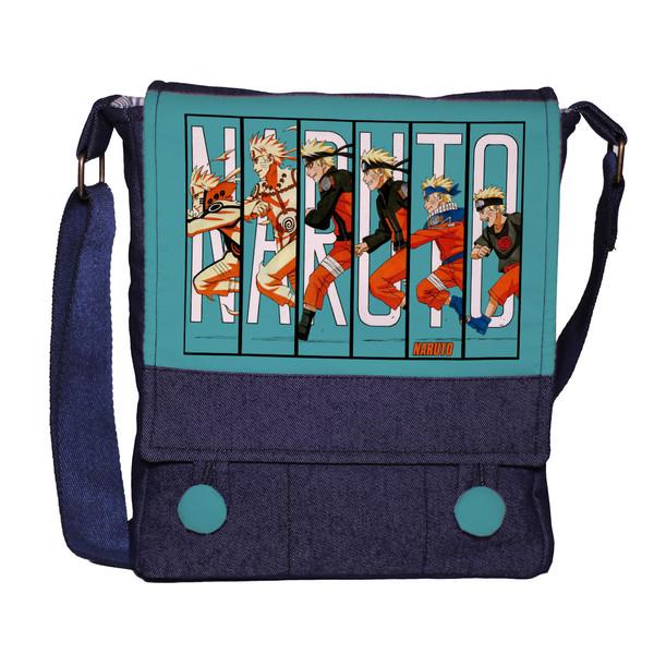 کیف دوشی دخترانه چی چاپ طرح Manga Naruto کد 65613