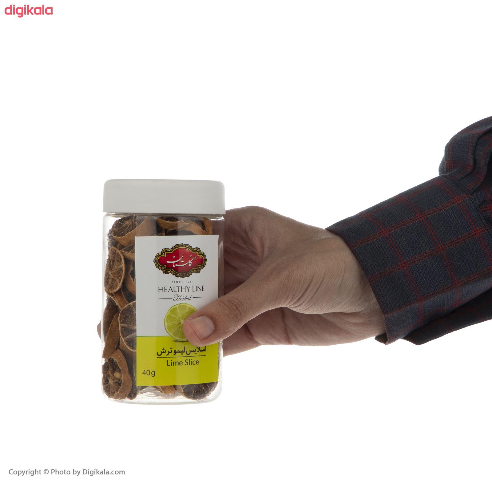 اسلایس لیمو ترش گلستان - 40 گرم  main 1 4