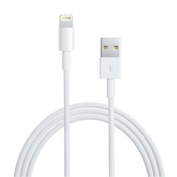 کابل شارژ USB به لایتینینگ مدل MD818ZM\A طول 1 متر