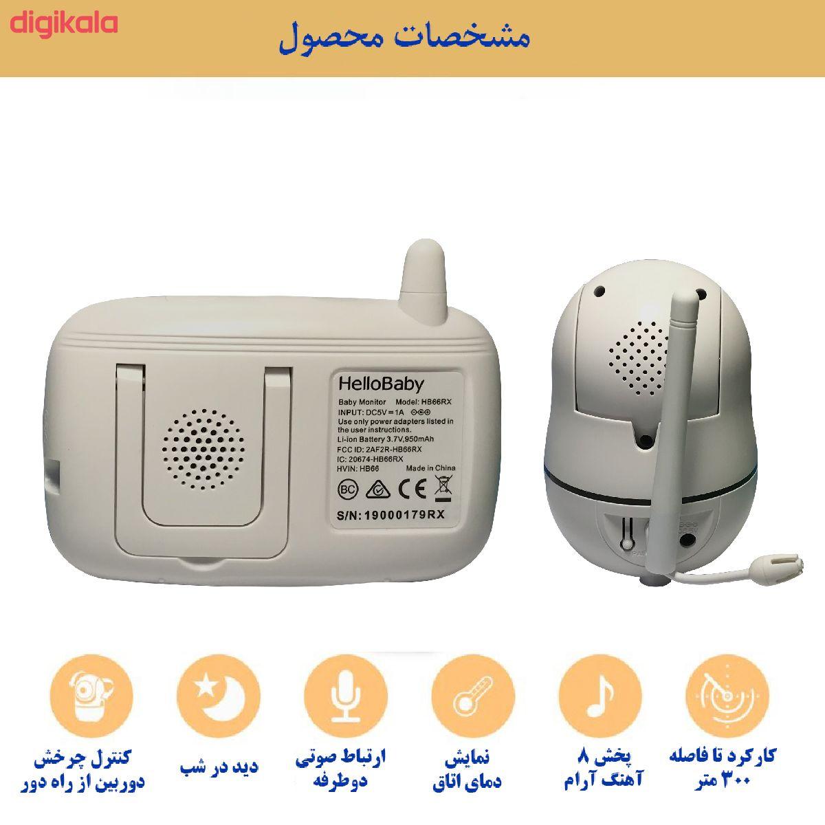 دوربین کنترل کودک هلوبیبی مدل HB66 main 1 1