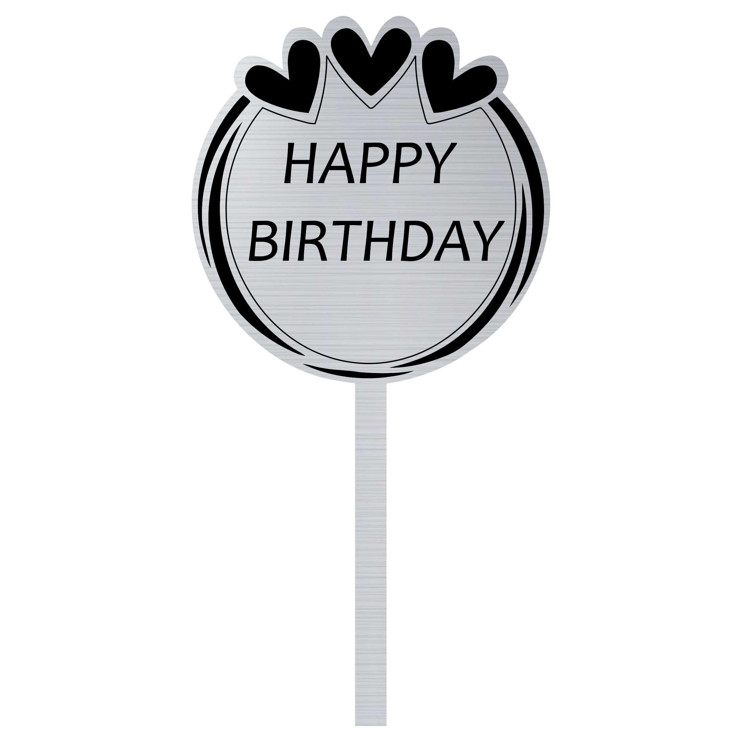 تاپر کیک مدل happy birthday