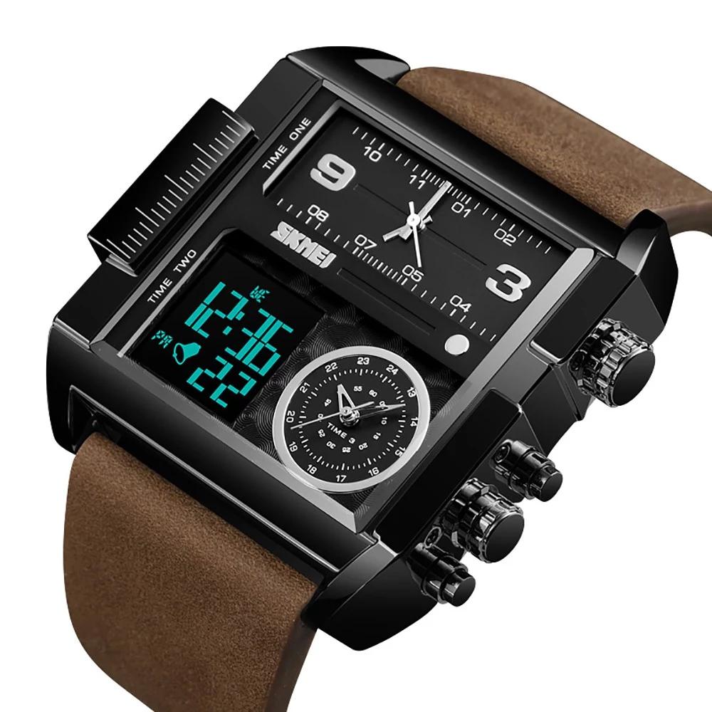 ساعت مچی عقربه ای مردانه اسکمی مدل 91-13 -  - 5