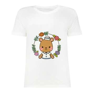 تی شرت آستین کوتاه زنانه مدل SK991028-002