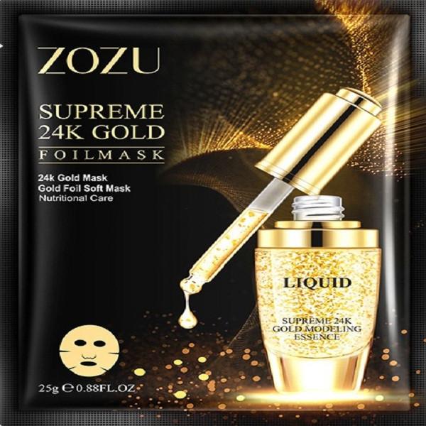 ماسک صورت زوزو مدل طلا وزن 25 گرم