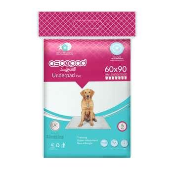 زیر انداز حیوانات خانگی آسوپد مدل 6090 بسته 5 عددی