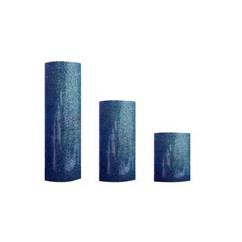شمع مدل استوانه ای کد 02 مجموعه 3 عددی