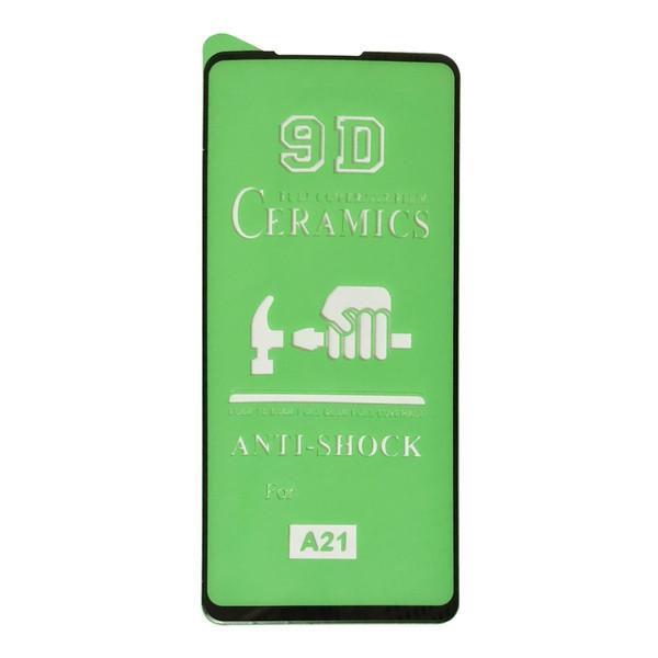 محافظ صفحه نمایش 9D مدل CR-A105 مناسب برای گوشی موبایل سامسونگ Galaxy A21