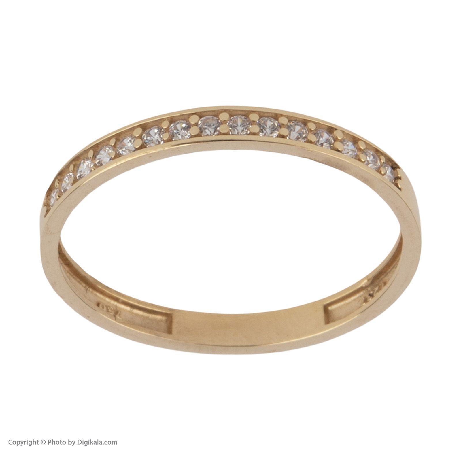 انگشتر طلا 18 عیار زنانه نیوانی مدل NR037 -  - 6