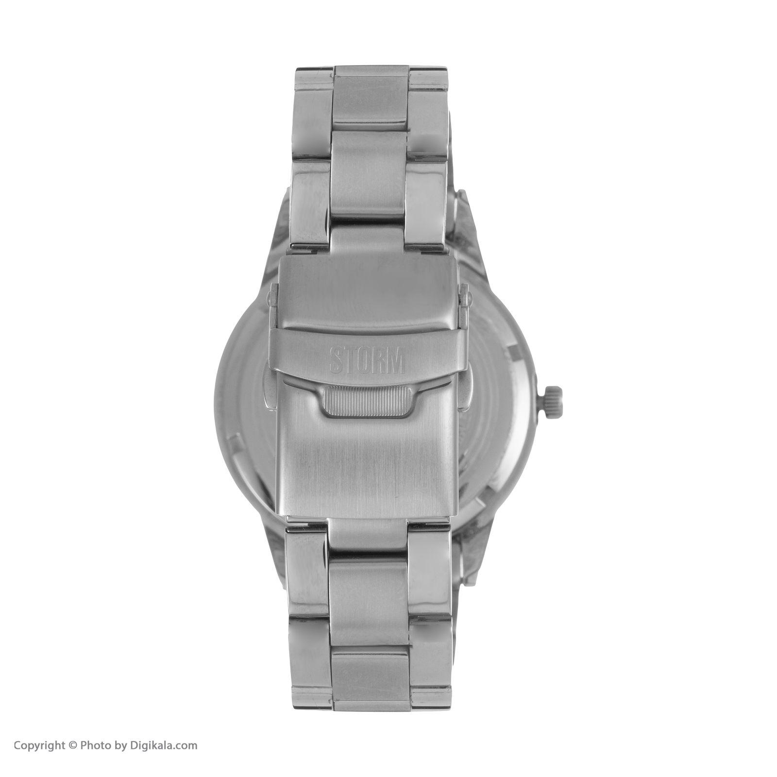 ساعت مچی عقربه ای مردانه استورم مدل ST 47130-S -  - 5