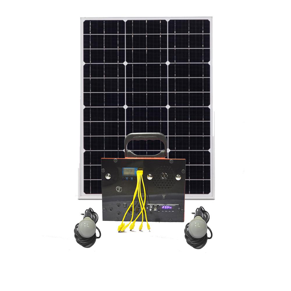 سیستم روشنایی خورشیدی مدل TG3018_30W