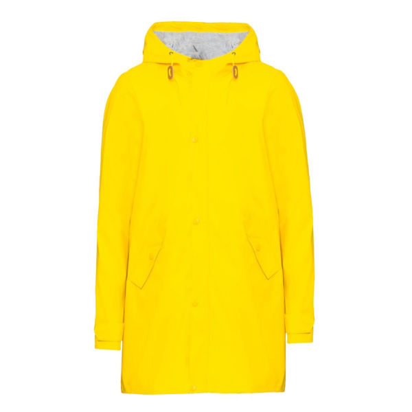 بارانی مردانه کرویت مدل SpringRain رنگ زرد